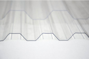 Composite polycarbonate corrugated sheets